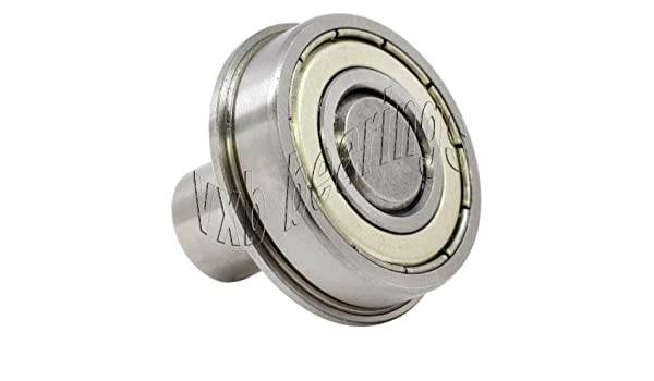 "1 1//8/"" Inch Ball Bearing with 3//8/"" diameter integrated 1/""Long Axle Pin Steel Rod"