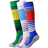 RADIASTIC Boys and Girls Sport Soccer Compression Socks...