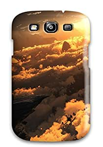High-quality Durability Case For Galaxy S3(the View From Above Fantasy Landscape Abstract Fantasy)
