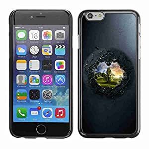 """Planetar® ( View To The Other Side ) Fundas Cover Cubre Hard Case Cover 4.7"""" iPhone 6"""
