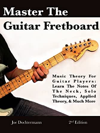 Learning notes on the guitar neck