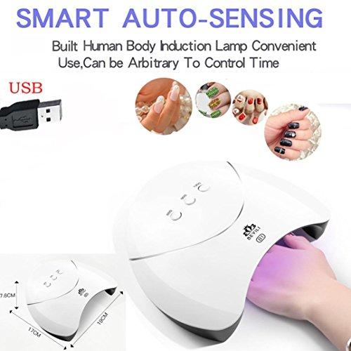 Nail Machine,EnjoCho LED UV Lamp for Nail,1PC 36W USB LED UV