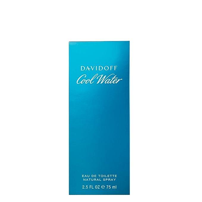 Davidoff Cool Water Eau de Toilette para Hombre - 75 ml: Davidoff: Amazon.es: Belleza