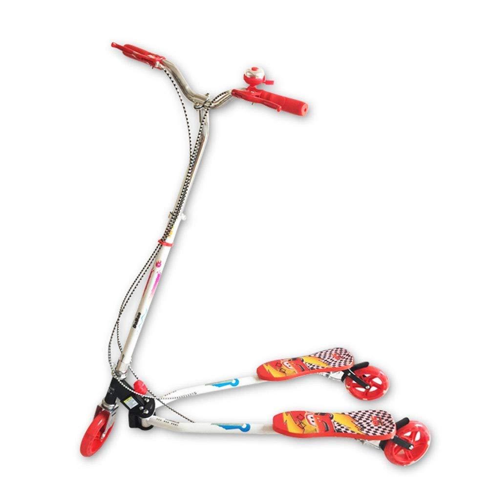 低価格で大人気の スクーターを蹴る子供たち カエルスクーター 赤、スイングカー、三輪スクーター : (色、自転車 (色 : 赤) B07R65YQNL 赤, 多度町:0f1b40c7 --- 4x4.lt