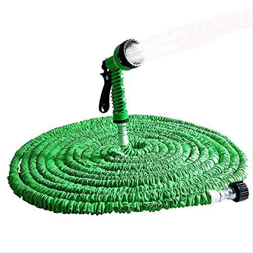 Vimmor Extensible Garden Hose Expandable Flexible Water Hose Plastic Gun Magic/Telescopic Hose For Watering Stretchable Irrigation Pipe 150ft Blue Garden Hose