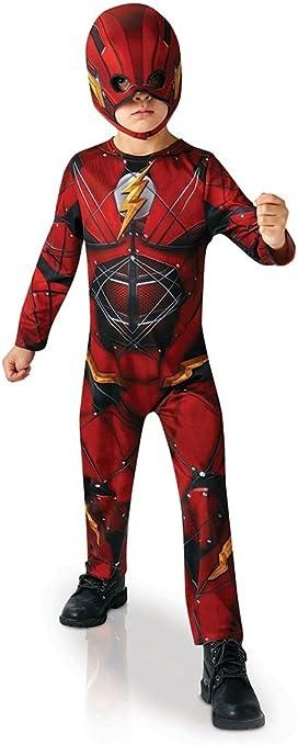 Warner RubieS - Disfraz Infantil de Flash, Oficial de la Liga de ...