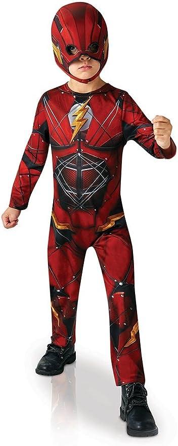 Rubies - Disfraz Infantil de Flash, Oficial de la Liga de la ...