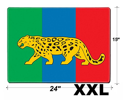 MSD Extra Large Mouse Pad XXL Extended Non-Slip Rubber Large Gaming Desk Mat IMAGE ID: 13338484 Various vector flags state symbols emblems of countries regions pref
