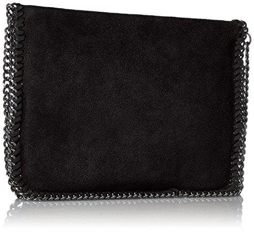 Cm Noir Unterarmtasche Chicca Pochette Borse 24 Femme nero 0FwqUHx4