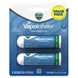 Vicks VapoInhaler Non Medicated Scented Sticks, Twin Pack