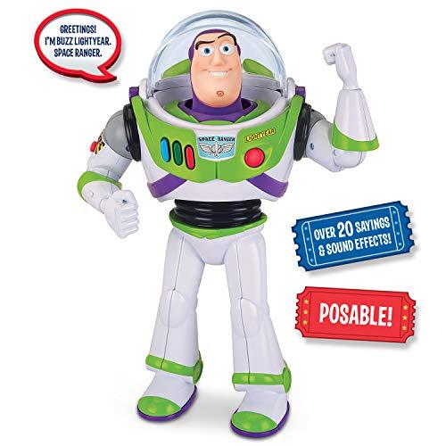 Toy Story Disney Pixar 4 Buzz Lightyear Action Figure (Best Buzz Lightyear Action Figure)