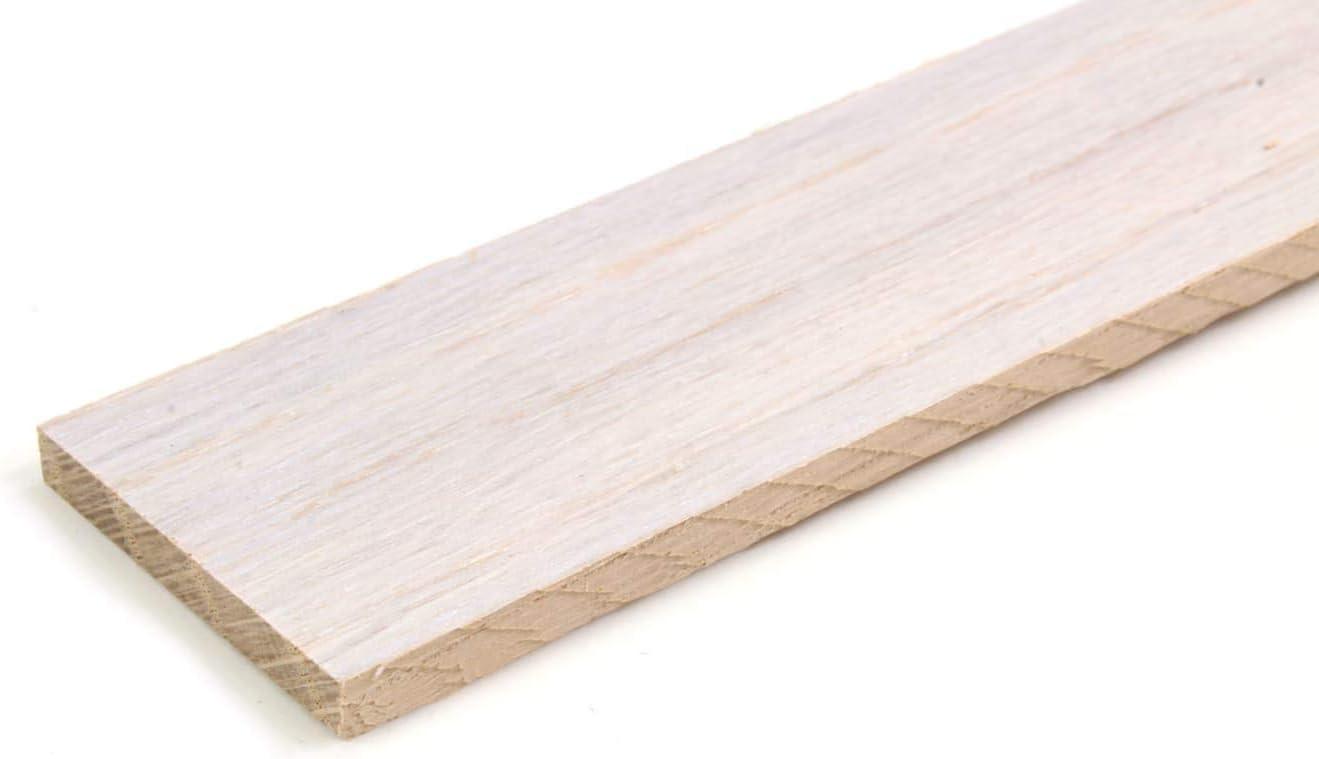 1 m, 30 x 4 mm wodewa List/ón de madera para pared dise/ño de roble