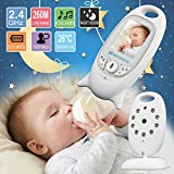 Baby Monitor,Ounice Wireless Easy To Iinstall Indoor WiFi Wireless IP Camera for Baby (C)