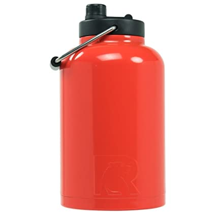 RTIC One Gallon Vacuum Insulated Jug, Orange