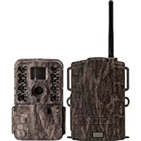 Moultrie M40i 16MP 80 Video No Glow IR Game Trail Camera + Mobile Field Modem