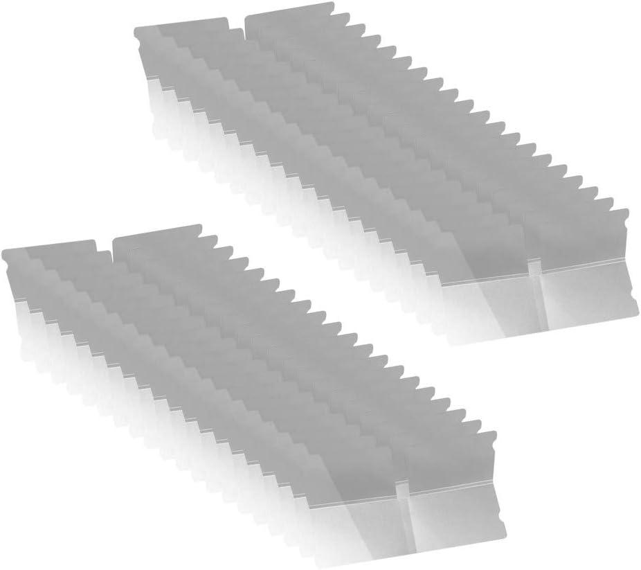 FiedFikt caja de limpieza 40 unidades resistente al polvo Caja de almacenamiento plegable para mascarillas y m/áscaras resistente al agua