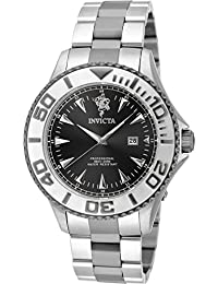 Invicta Men's 'Sea Base' Quartz Stainless Steel Casual Watch, Color:Two Tone (Model: 17973)