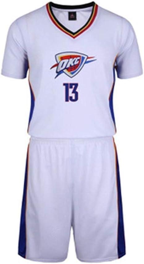 Camisa de Baloncesto de la NBA de Baloncesto for Hombre Oklahoma ...