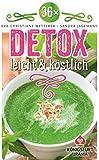36 x Detox - leicht & köstlich: Wohlfühlkarten (36 Detox Rezepte im praktischen Kartenformat)