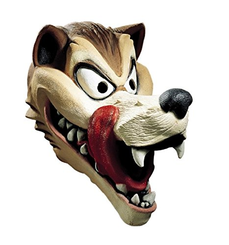 MyPartyShirt Hungry Wolf Adult Latex Mask]()