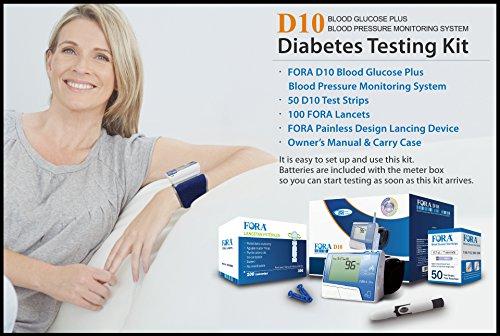 FORA D10 Diabetes Testing kit