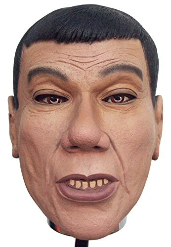 [Rodrigo Duterte Philippines president Halloween latex mask] (Costumes For Halloween Philippines)