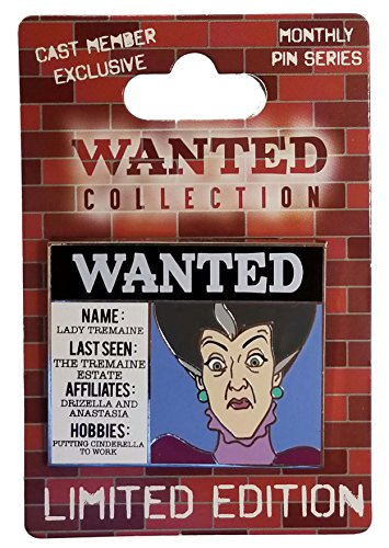 Disney Pin - Cast Member Exclusive - Wanted Collection - Lady Tremaine - Exclusive Members