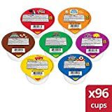 Kellogg's Portable Cereal Variety Pack - 9 Assorted Flavors Family Favorite Breakfast Cereals (96 Count)