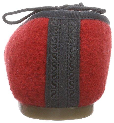 Stegmann 403 Damen Geschlossene Ballerinas Rot (rubin 8960)