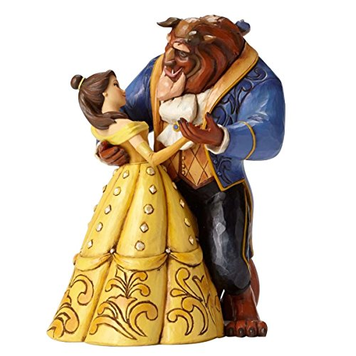 Enesco Disney Traditions by Jim Shore Belle and Beast - Bell Collectible