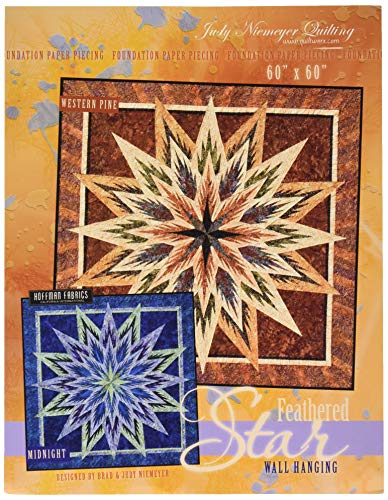 Judy Niemeyer Quilting JNQ97P Feathered Star Pattern