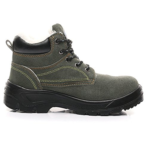 shoes toe Green proof unisex shoes puncture safety industrial shoes steel 29 Army work amp;construction tfwwRqB