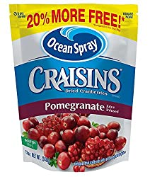 Ocean Spray Craisins Dried Cranberries, Pomegranate, 12 Ounce