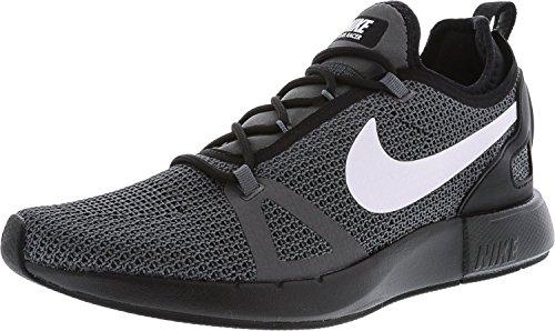 Nike Womens Duel Racer Running Scarpe Da Allenamento-nero / Bianco / Grigio Scuro Nero-bianco-grigio Scuro