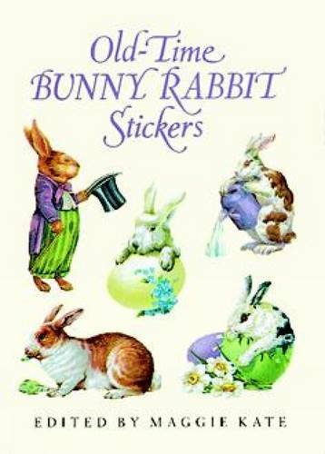 Old-Time Bunny Rabbit Stickers