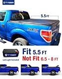 Tyger Auto TG-BC3F1019 TRI-FOLD Truck Bed Tonneau Cover 2009-2014 Ford F-150 (Excl. Raptor Series) | Styleside 5.5' Bed | For models without Utility Track System