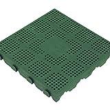 Pavimenti in PVC verde Art. P40VD cf. 10 pz.