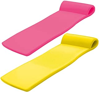product image for TRC Recreation Super Soft Sunsation Foam Pool Float Loungers, Pink and Yellow