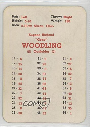 Gene Woodling Baseball Card 1960 Apba Baseball 1959 Season Base Gewo