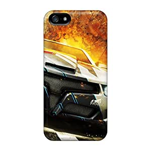 Ultra Slim Fit Hard JohnRDanie Case Cover Specially Made For Iphone 5/5s- Car Explosion
