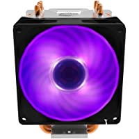 Air Cooler Para Processador Cooler Master Hyper H410R RGB Com 4 HeatPipes e Ventoinha 92mm