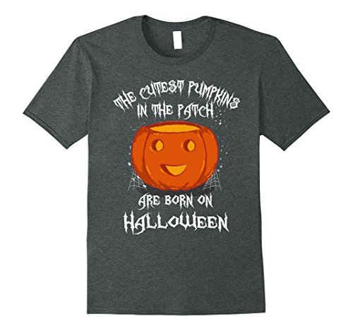 Mens Halloween Birthday Shirt Medium Dark Heather