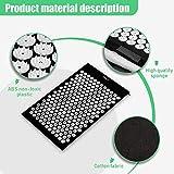 Risefit Acupressure Mat & Acupressure Pillow Set