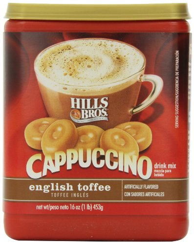 Hills Bros Cappuccino English Toffee