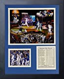 "Legends Never Die MLB Kansas City Royals 2015 World Series Champions Framed Photo Collage, 11"" x 14"""