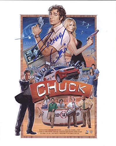 ZACHARY LEVI as Chuck Bartowski - Chuck GENUINE AUTOGRAPH