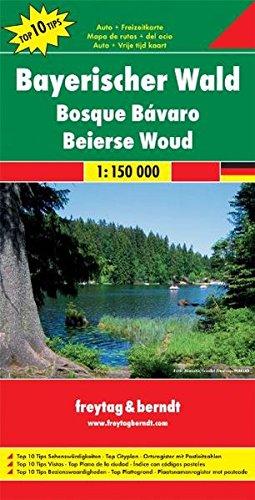 Freytag Berndt Autokarten, Bayerischer Wald - Maßstab 1:150 000: Top 10 Sehenswürdigkeiten. Top Cityplan. Ortsregister mit Postleitzahlen (freytag & berndt Auto + Freizeitkarten)