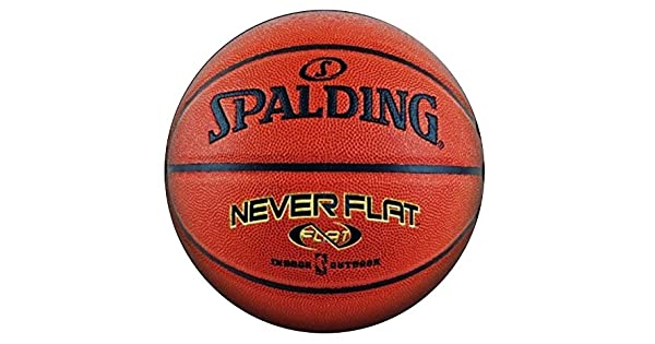 Amazon.com: Spalding Never Flat Outdoor oficial de ...