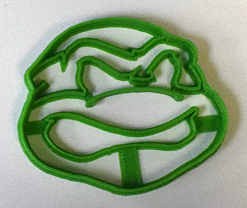 TMNT TEENAGE MUTANT NINJA TURTLES TURTLE FACE CARTOON MOVIE CHARACTER SPECIAL OCCASION COOKIE CUTTER FONDANT BAKING TOOL USA PR558 -