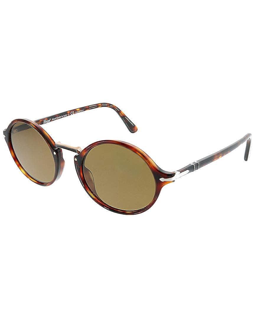 Persol 0PO3208S Gafas de sol, Ovaladas, Polarizadas, 50 ...